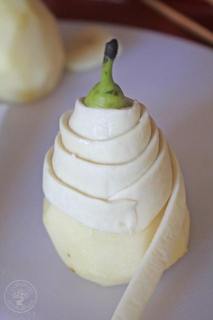 Ensalada con pera envuelta en hojaldre www.cocinandoentreolivos.com (5)
