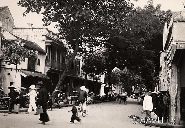 AP3293-Despierres - Hanoï, 1931 – Rue Jean Dupuis, nay là Phố Hàng Chiếu