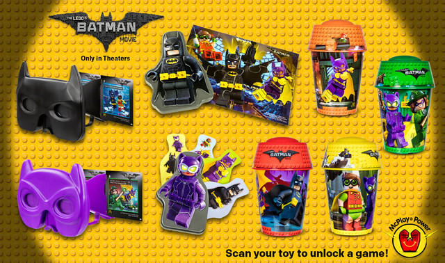 Happy Meal's The LEGO Batman Movie Toys