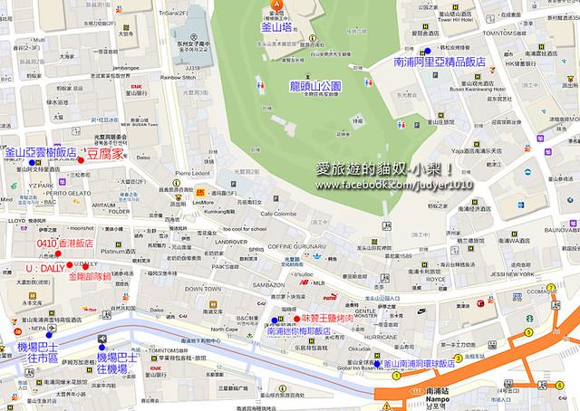 南浦站地圖 -1