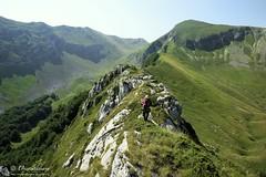 Cima Passo Cattivo per la cresta nord (Sibillini)