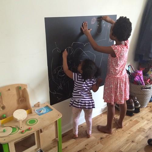 new chalkboard!
