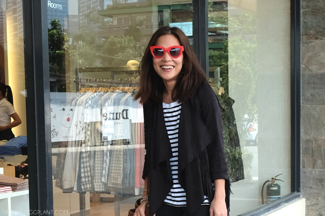 ZARA RED SUNGLASSES STREET STYLE
