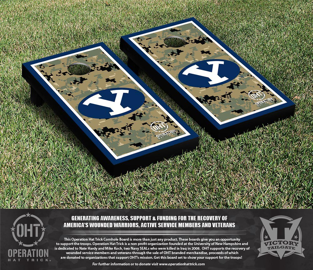 Brigham Young Cougars Operation Hat Trick Border Version