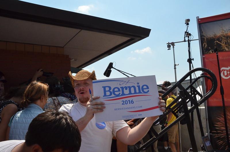 Bernie Sanders, Iowa State Fair, August 15 2015