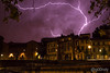 Lightning over la Daurade, Toulouse