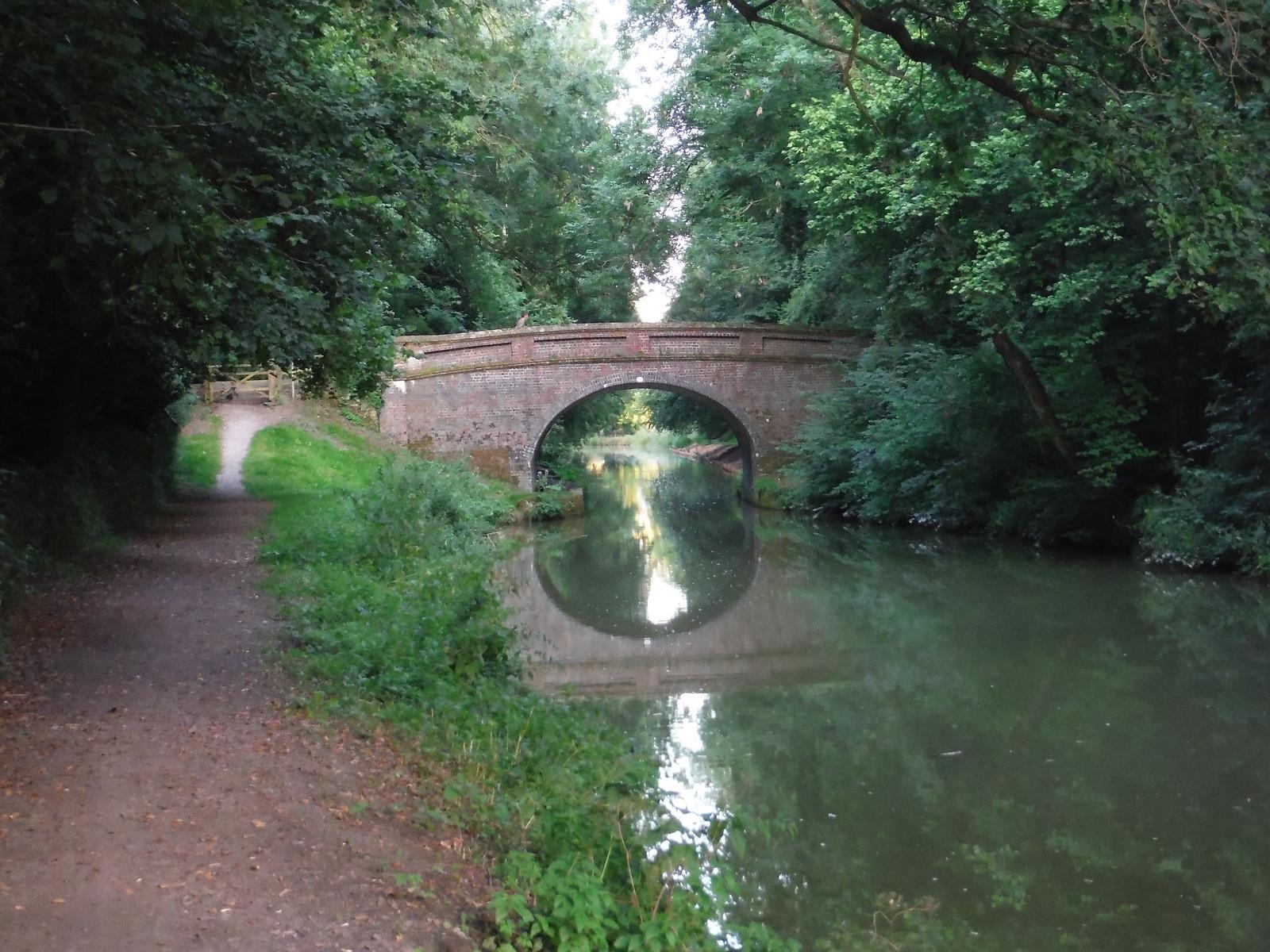 Bridge #115, Kennet & Avon Canal SWC Walk 127 Pewsey Circular