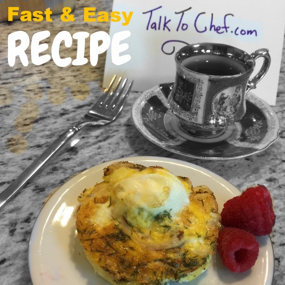 Fast and easy kids hot breakfast for evening preparation and morning cook.