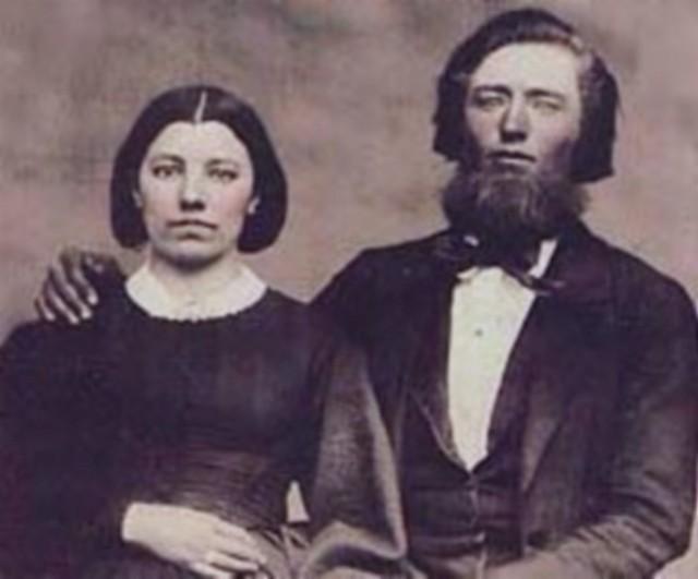 Caroline Quiner and Charles Ingalls