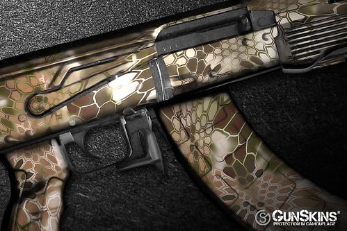 AK 47 Kryptek Highlander