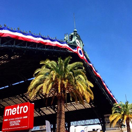 Metro Estación Central