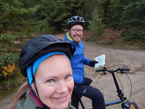 Algonquin PP - bike trail - 1