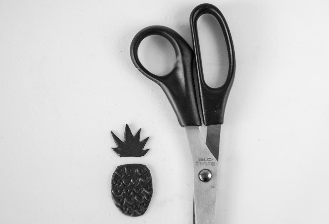 Jak zrobić ananasowe pieczątki - DIY