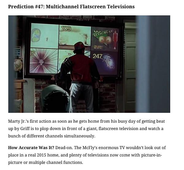 Screen Crush BTTFPII predictions