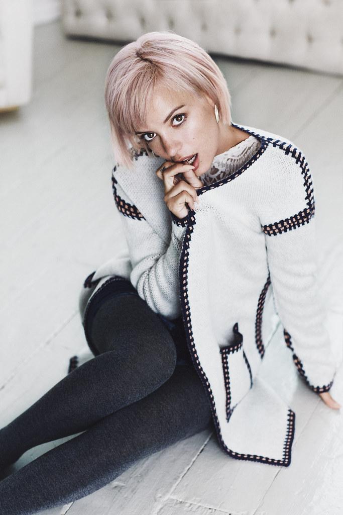 Лили Аллен — Фотосессия для «Vero Moda» Зима 2015 – 20