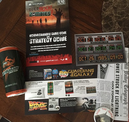 Geek Fuel - October 2015