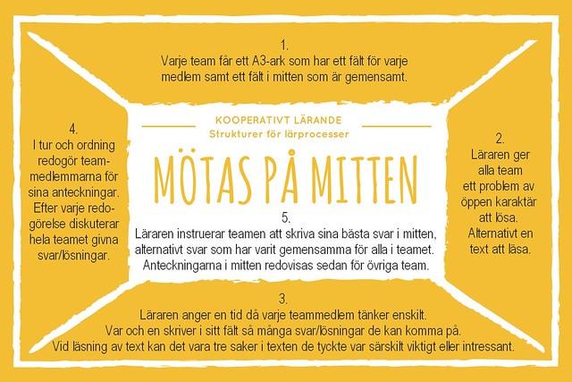 Kooperativt Lärande - Mötas på Mitten