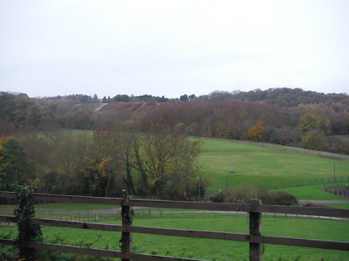 Backview from Millbroook Village to Greensand Ridge
