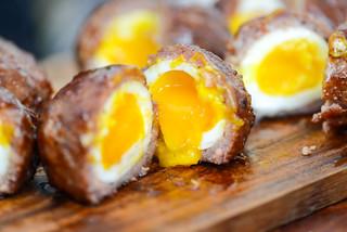 Barbecue Scotch Eggs