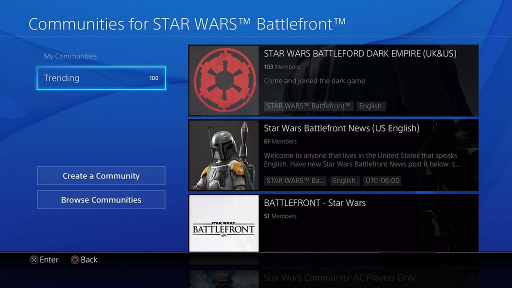PSN Social Features
