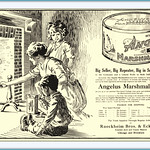 Tue, 2015-11-24 08:39 - 1915 Angelus Marshmallows Rueckheim Bros. & Eckstein -Cracker Jack and Candy Makers Chicago and Brooklyn