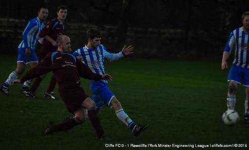 Cliffe FC 0 - 1 Rawcliffe 21Nov15