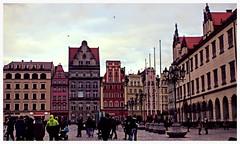 Beautiful winter day in Wroclaw