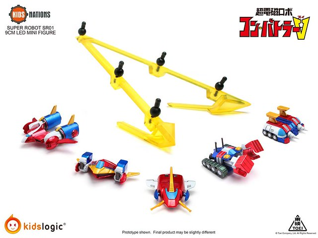 Kids Logic 《超電磁機器人》孔 巴特拉V