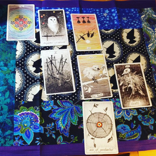 A reading for my writing. #tarot #tarotcards #tarotreadings #tarotreadersofinstagram #writing #writersofinstagram #novels #ishouldbewriting