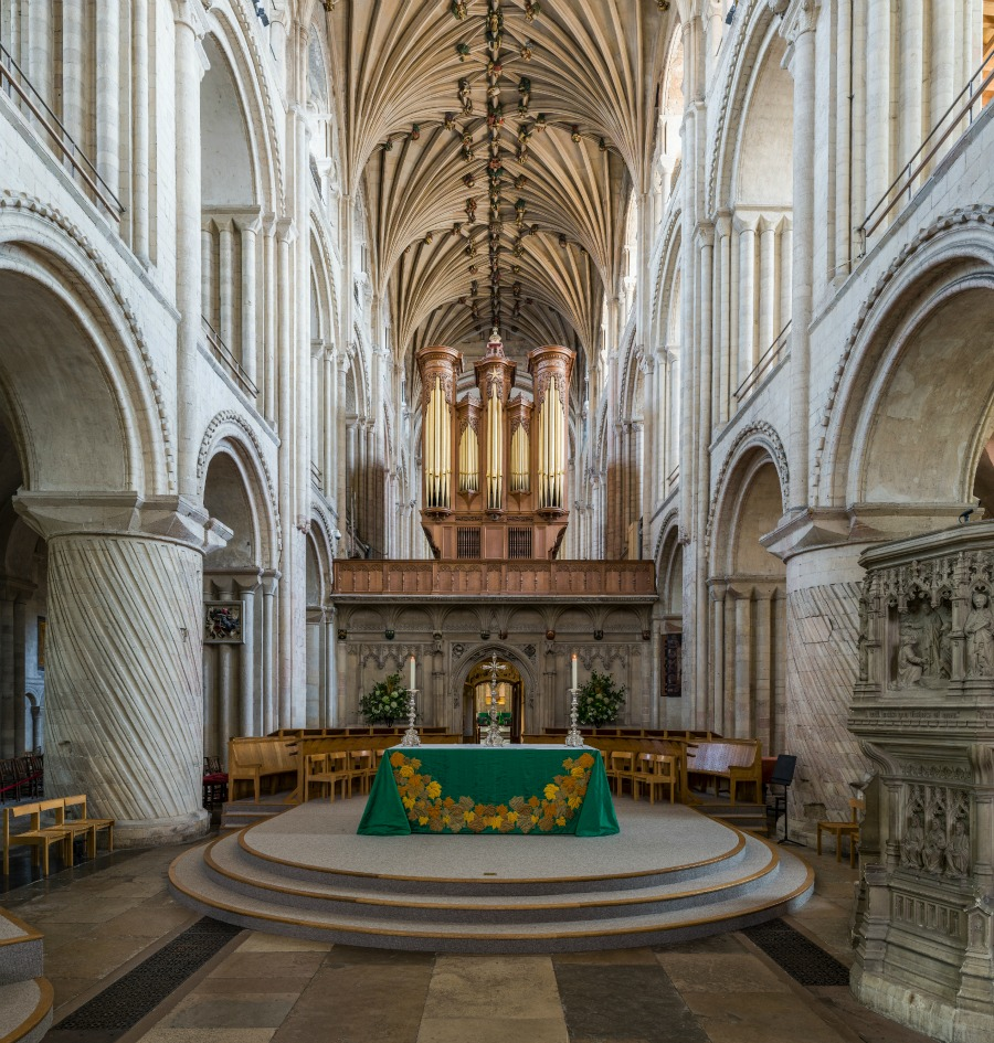 Norwich Cathedral - The pulpitum. Credit: David Iliff
