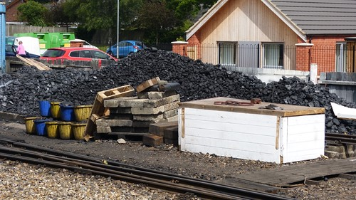 Coal supplies at Aylsham
