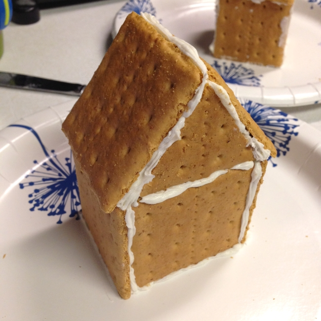 'Gingerbread' house step-by-step, 12