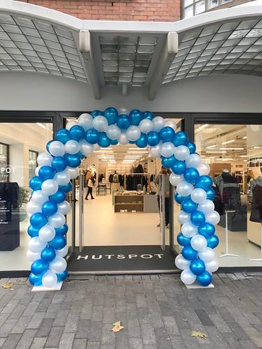 Ballonboog 6m Opening Hutspot Karel Doormanlaan Rotterdam