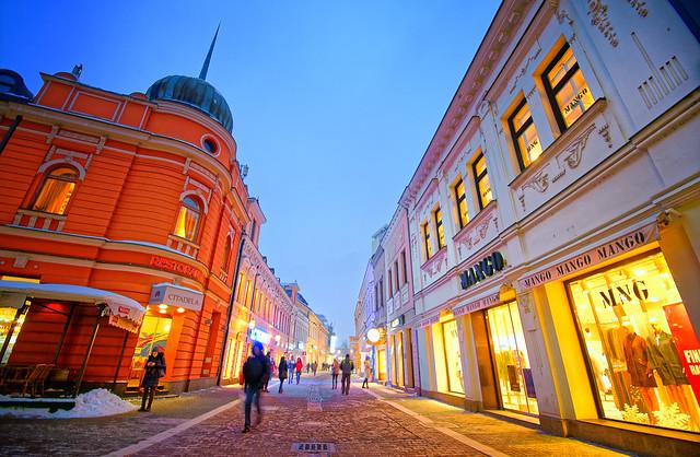 Gospodska Street, Sony NEX-5N, Sony DT 50mm F1.8 SAM (SAL50F18)