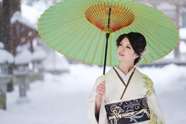 In the city where snow falls ( Cocoro Kusano )