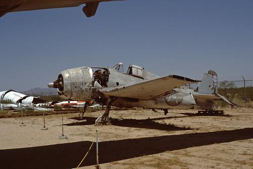Grumman F6F Hellcat at the Pima Air & Space Museum, 1980