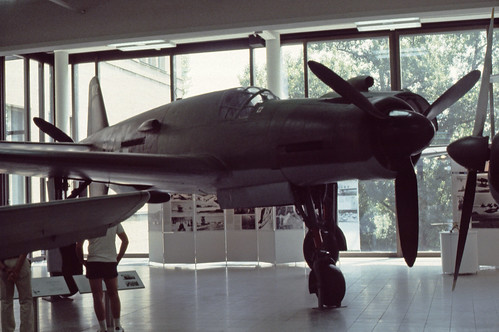 Dornier Do.335 Pfeil at the Deutsches Museum, Munich, July 1984.