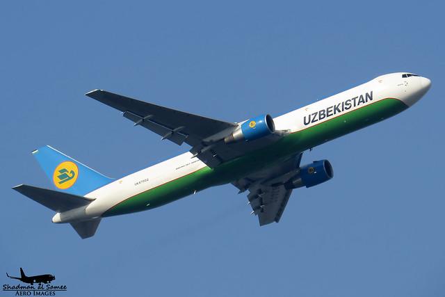 Uzbekistan Airways UK67002 Boeing 767