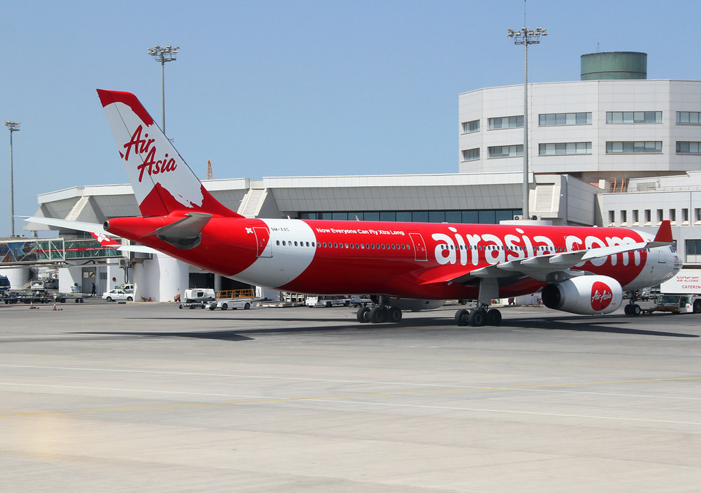 Air Asia X operates this A330 on behalf of Air Algerie, mostly for their flights to Paris ORY. Delivered 09/2009.