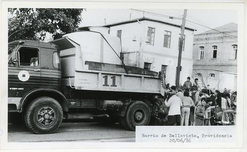 Chile 1986 - Temporales: Providencia