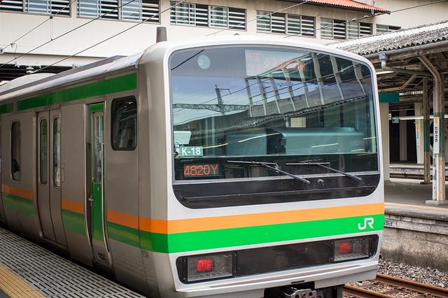 to Takasaki (Shonan Shinjuku Line)