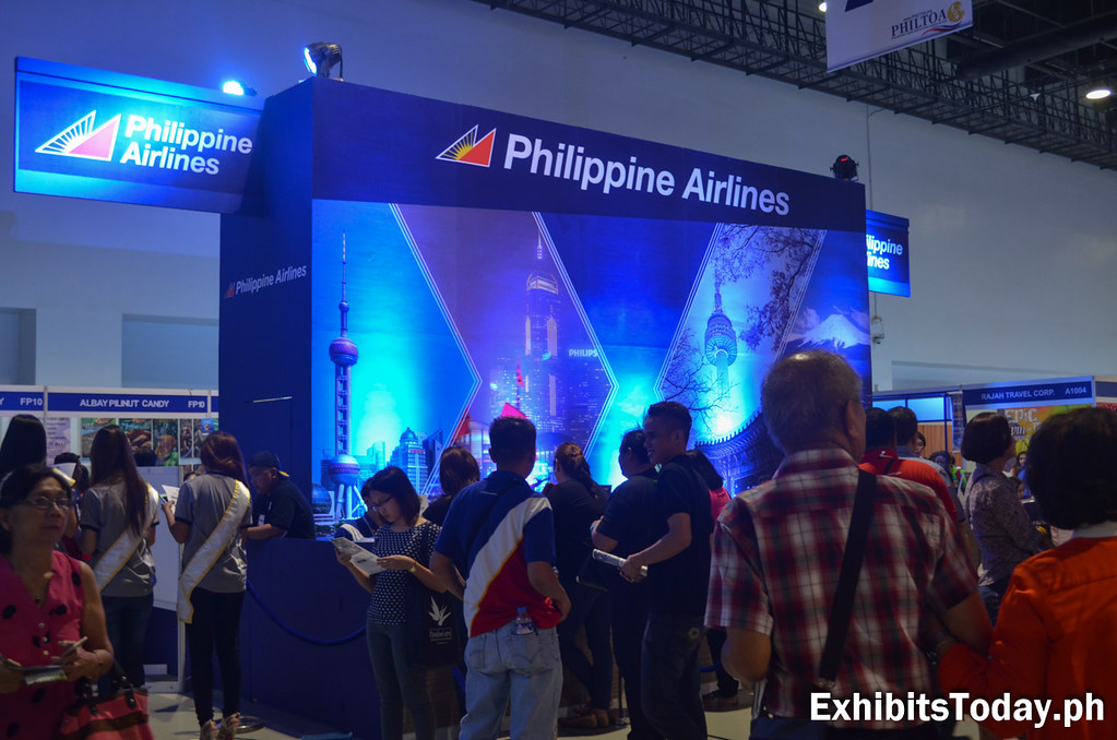 Philippine Airlines Exhibit Stand