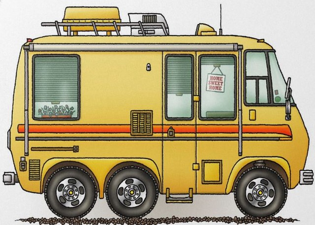 Whimsical GMC Motorhome