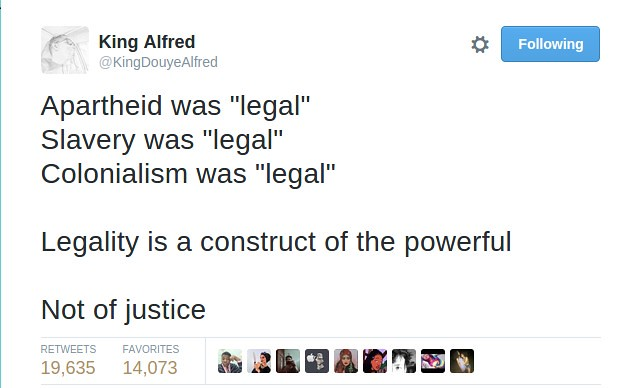 Header of legality