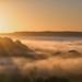 2015 Bringsty - Sunrise Over Mist.jpg by Birm