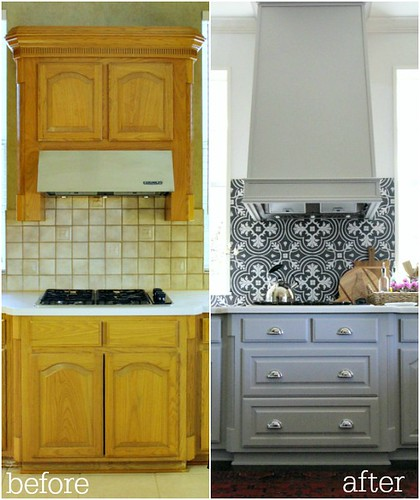 Hi Sugarplum  Before & After Kitchen Remodel
