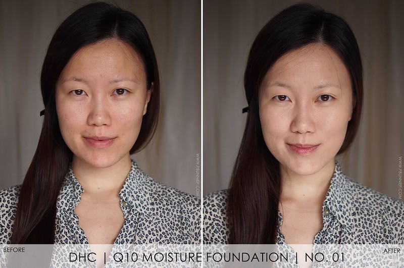 DHC Q10 Moisture Care Foundation Review