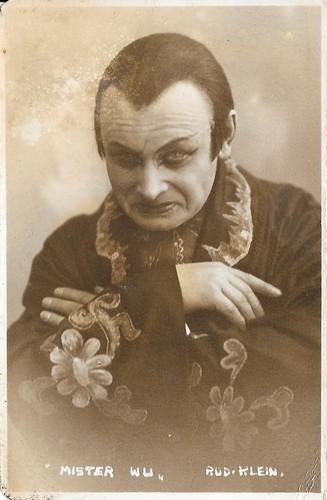 Rudolf Klein-Rogge in Mister Wu
