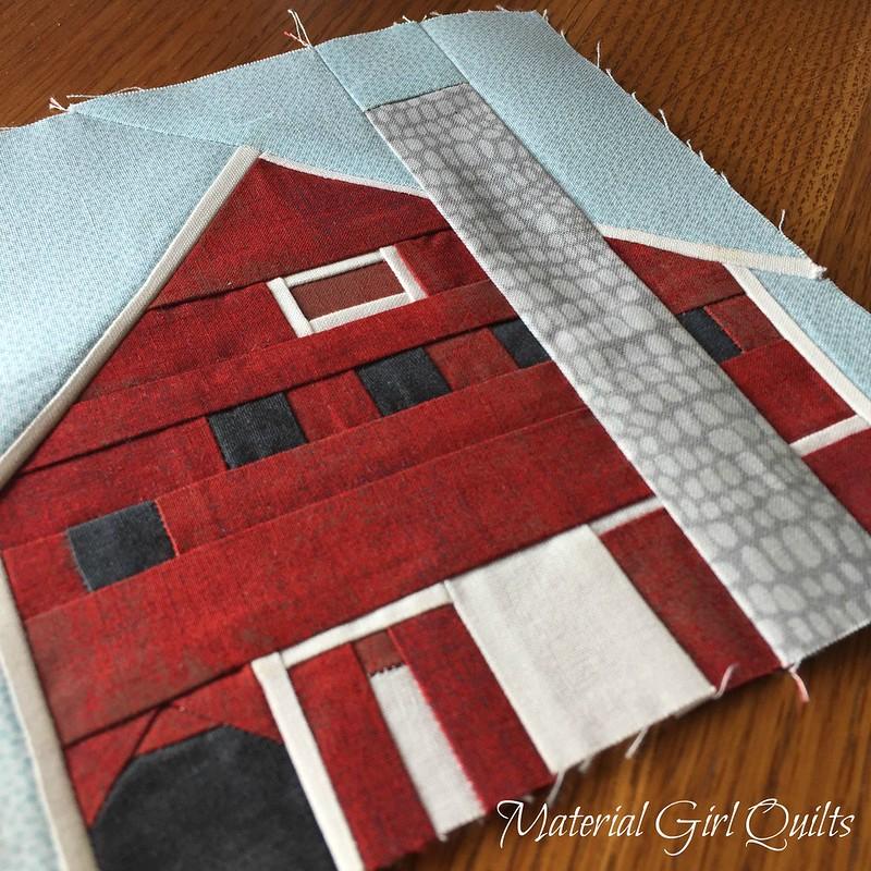 Indiana Bicentennial Barn Quilt - Hendricks County Barn