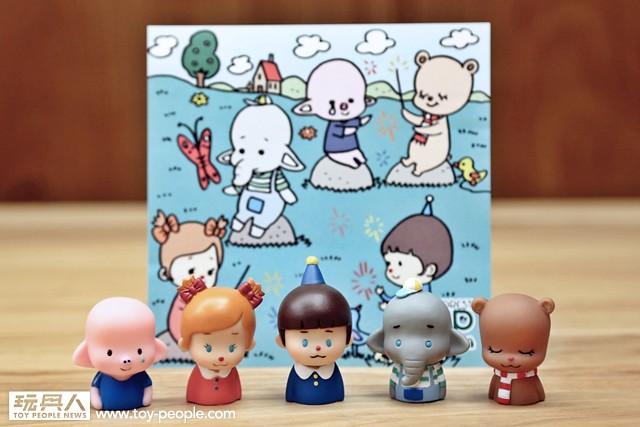 療癒系新作品這次要全面攻佔你的手指!HOW2WORK - 玩具森林手指玩偶系列!